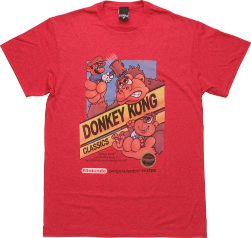 Donkey Kong Classic Artwork T-Shirt