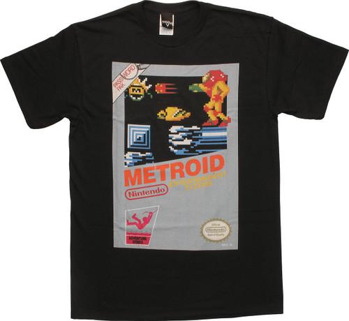 Metroid Classic Box Artwork T-Shirt