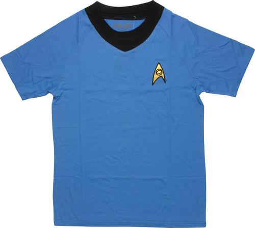 Star Trek TOS Sciences Deluxe T Shirt