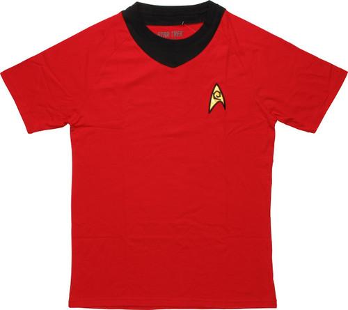 Star Trek TOS Operations Deluxe T Shirt