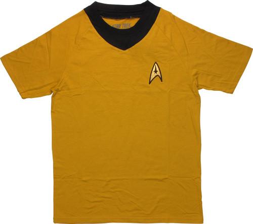 Star Trek TOS Command Deluxe T Shirt