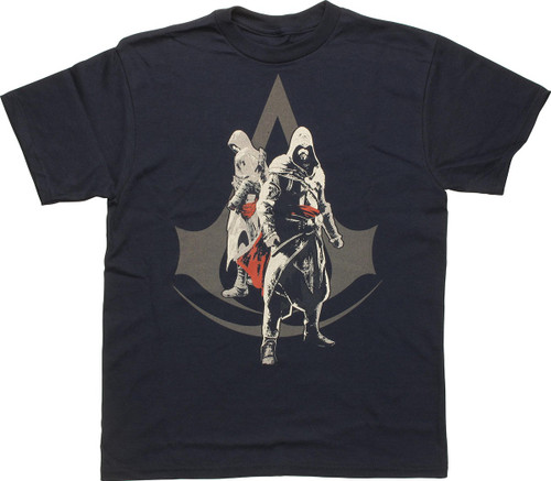 Assassins Creed Duo Logo Youth T-Shirt