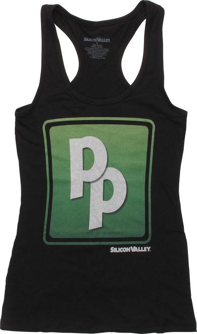 Silicon Valley PP Logo Junior Tank Top