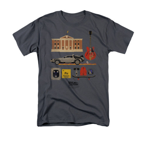Back to the Future Items T Shirt