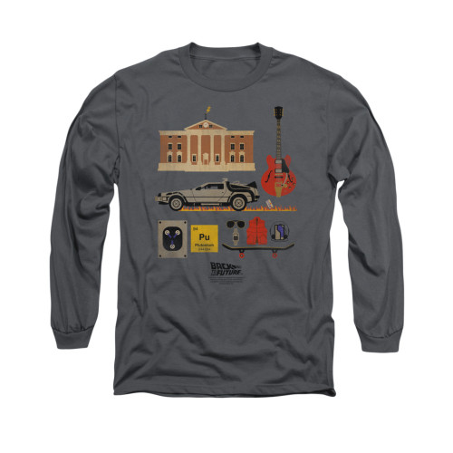 Back to the Future Items Long Sleeve T Shirt