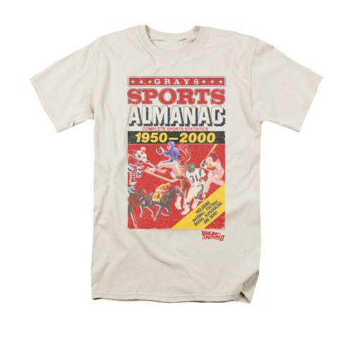 Back to the Future 2 Almanac T Shirt