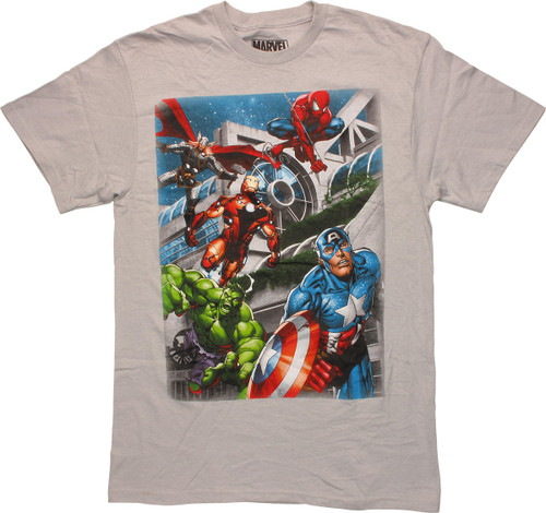 Avengers SDCC Hall Action T-Shirt