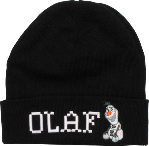 Frozen Olaf Name Sit Cuff Beanie