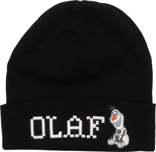 Frozen Olaf Name Sit Cuff Beanie