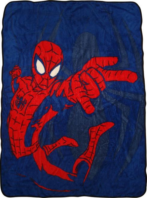 Spiderman Swinging Blanket
