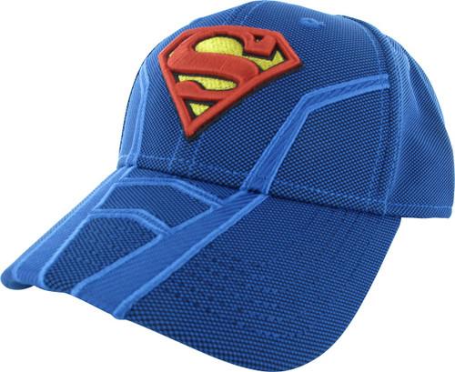 Superman Logo Suit Hat