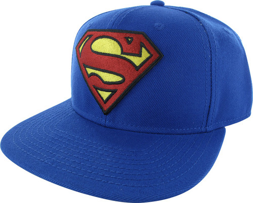 Superman Classic Logo Snapback Hat