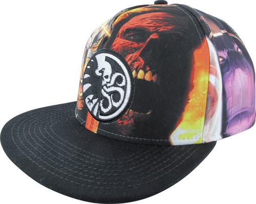 Shield Vs. Hydra Sublimated Hat