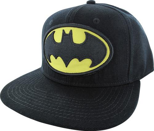 Batman Classic Logo Snapback Hat