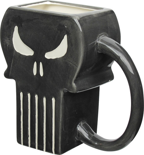 Punisher Sculpted Logo Mug