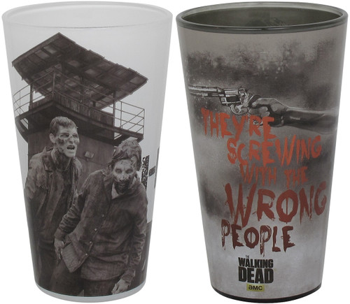 Walking Dead Scenes Pint Glass Set