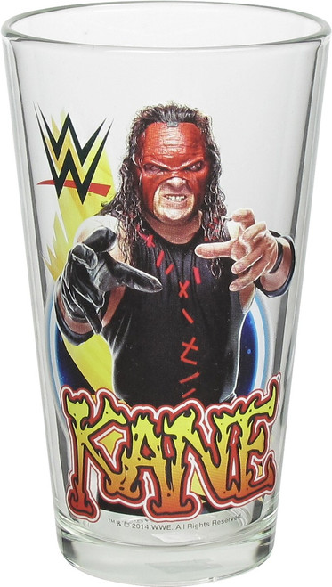 WWE Kane Pint Glass