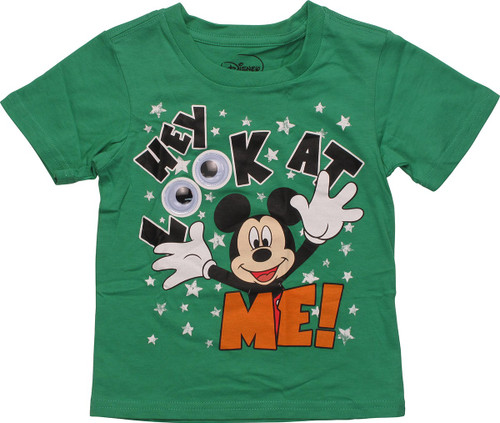 Mickey Mouse Look at Me Eyes Toddler T Shirt