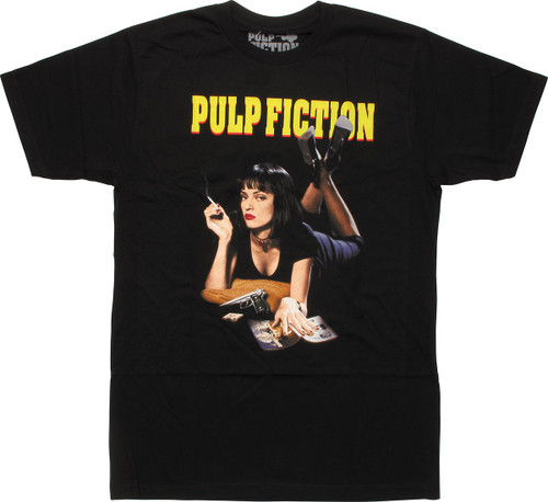Pulp Fiction Poster T-Shirt Sheer