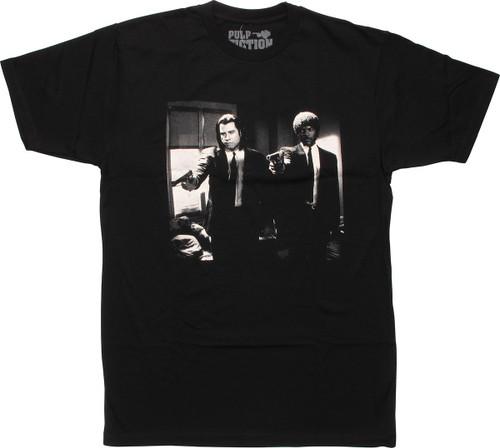 Pulp Fiction Vincent Jules T-Shirt Sheer