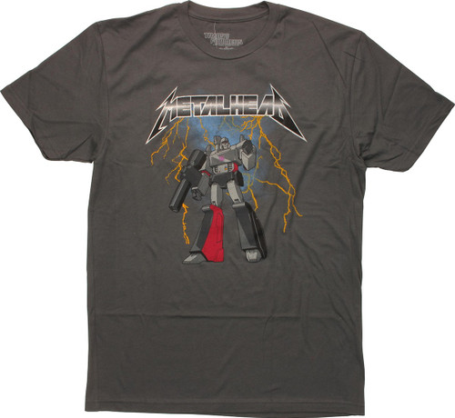 Transformers Megatron Metalhead T-Shirt Sheer