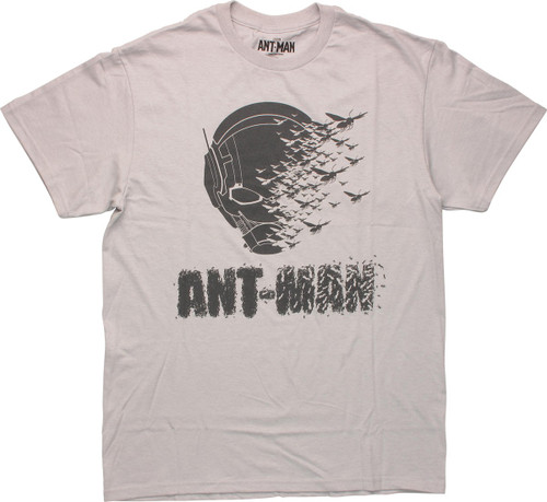 Ant Man Face Yellowjackets Dissolve T-Shirt