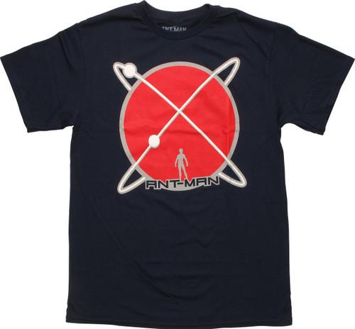 Ant-Man Atomic Size Navy T-Shirt