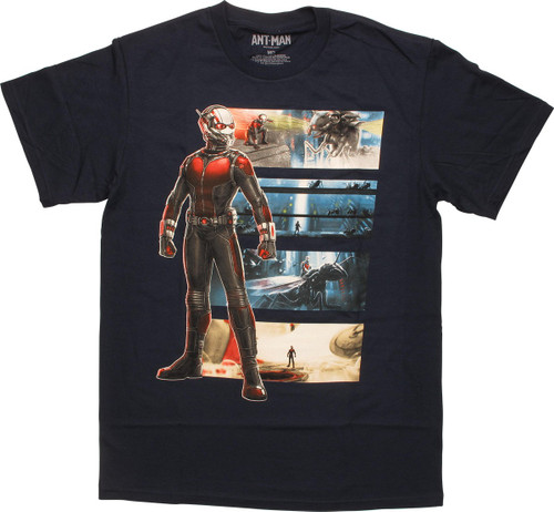 Ant Man Face Scenes T-Shirt