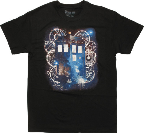 Doctor Who Tardis Space Tech T-Shirt