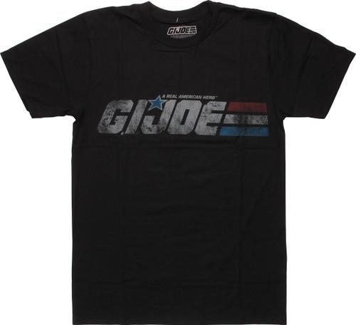 GI Joe Vintage Distressed Logo T-Shirt