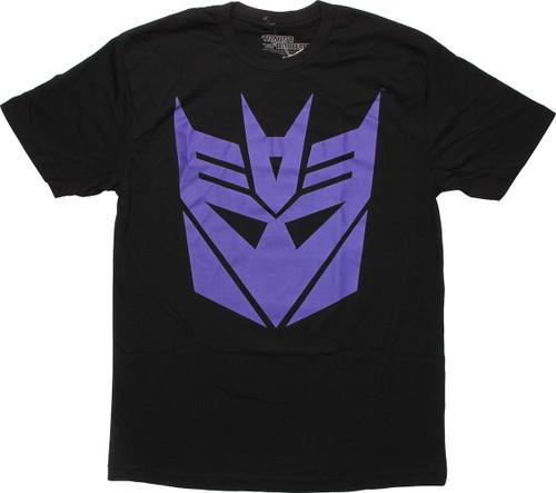 Transformers Purple Decepticon Logo T-Shirt