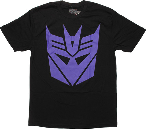 Transformers Purple Decepticon Logo T-Shirt