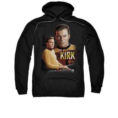 Star Trek Captain Kirk Pullover Hoodie
