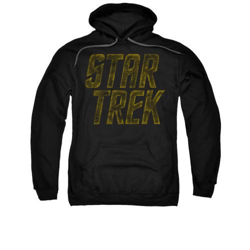 Star Trek Distressed Logo Pullover Hoodie