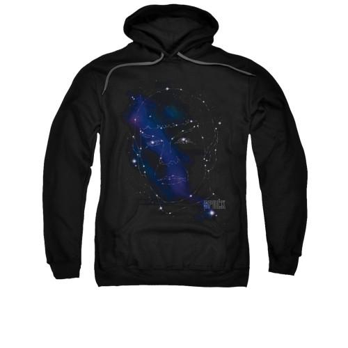 Star Trek Spock Constellations Pullover Hoodie