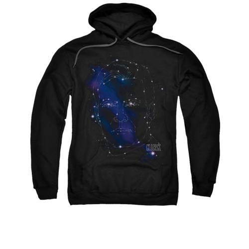 Star Trek Kirk Constellations Pullover Hoodie