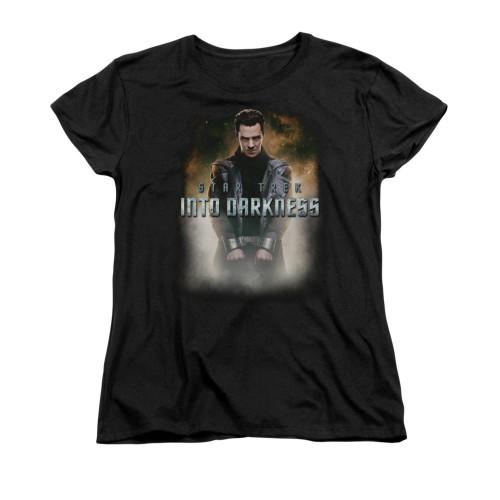Star Trek Darkness Harrison Ladies T Shirt