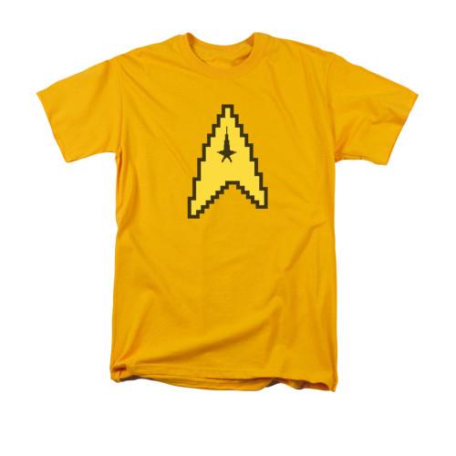 Star Trek 8 Bit Command T Shirt