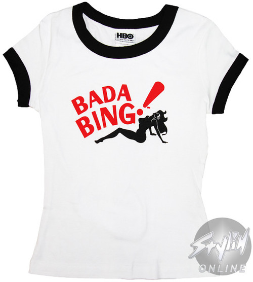 Sopranos Bada Bing Baby Tee