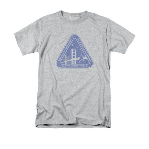 Star Trek Dist Academy Logo T Shirt