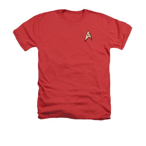 Star Trek TOS Engineering Heather T Shirt