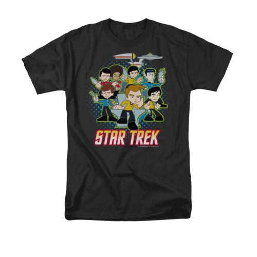 Star Trek Quogs Collage T Shirt
