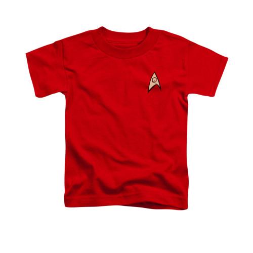 Star Trek TOS Engineering Toddler T Shirt