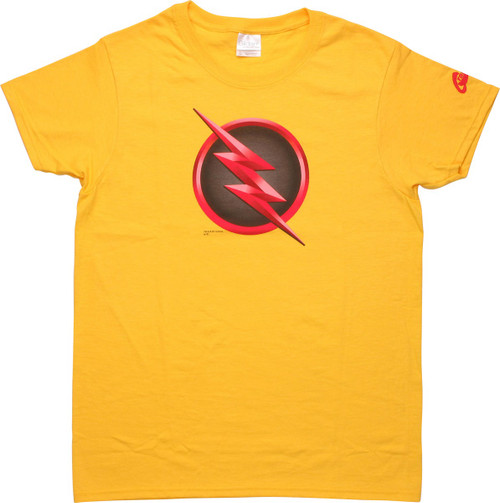Flash TV Reverse Symbol Ladies T-Shirt