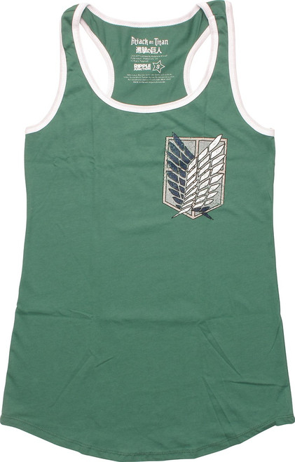 Attack on Titan Scout Regiment Junior Tank Top