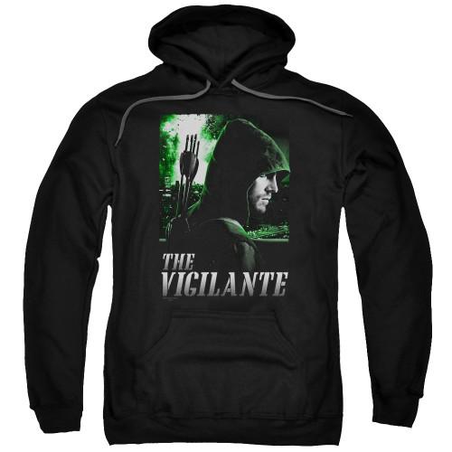 Green Arrow TV Vigilante Pullover Hoodie