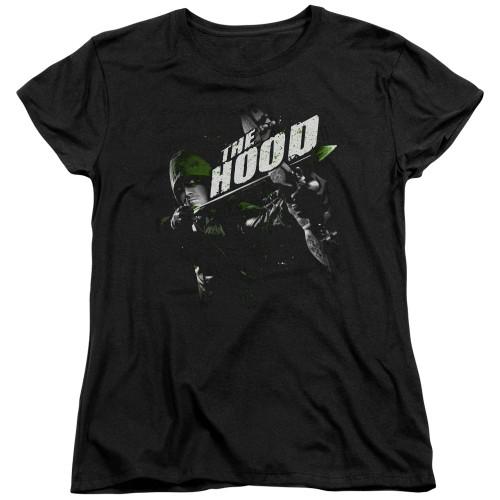 Green Arrow TV Take Aim Ladies T Shirt