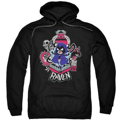 Teen Titans Go Raven Pullover Hoodie