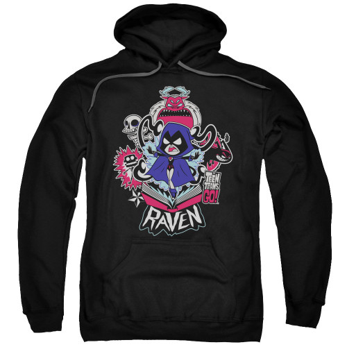 Teen Titans Go Raven Pullover Hoodie