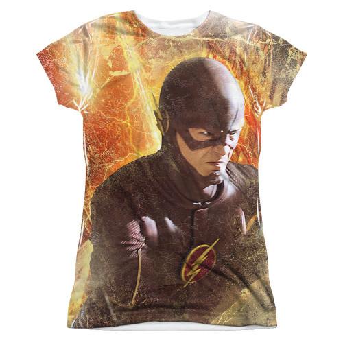 Flash TV Town Sub Juniors T Shirt